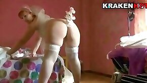 Krakenhot Chubby bride in being spanked in a sextape