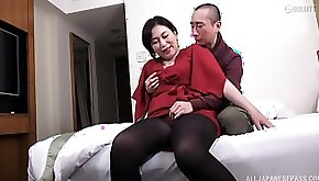 Amateur homemade porn music video of a horny Japanese MILF and her lover