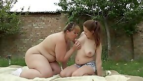 Busty girlfriend fucks with big ass in anal lesbians have fun in the