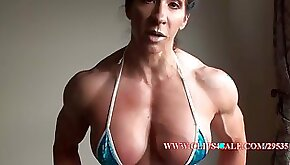 Angela Salvagno Luxurious Fitness Princess Shows Off