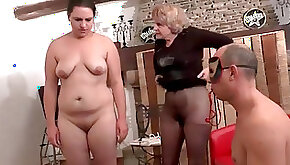 French swingers getting corrected both vaginal and assfuck fist pounded