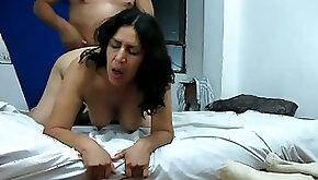 I fucked chubby Spanish mamma doggy style so she was moaning like dirty blonde slut