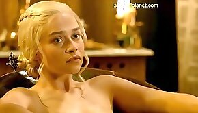 Emilia Clarke her naked and sex scenes
