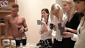 StudentSexParties Wild College Orgy After An Exam Scene