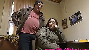 Pregnant by the old caretaker