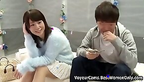 Japanese asian couple porn games glass room