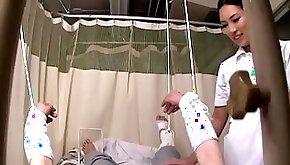 Medical voyeur porn video with asian nurse fucked by my manhood