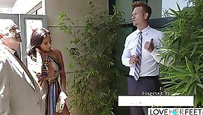 LoveHerFeet Sneaky Cheating Foot Sex With The Hunk Realtor