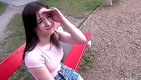 Immorality teen girl found in park