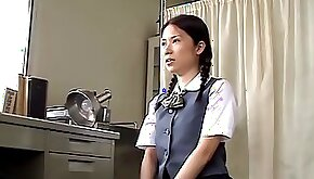 Asian slut fucked so hard by her doctor in medical
