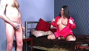 Curvy UK mistress Nicola teasing pervert JOI