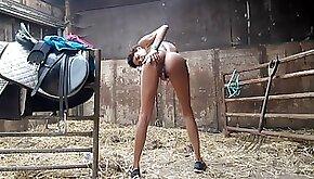 Naughty Pussy Play At Granpas Farm