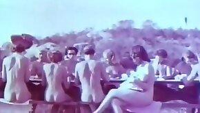 Outdoor Nudists Enjoying Naked Lifestyle Vintage