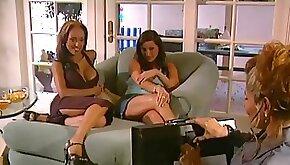 Exotic pornstars Victoria Style and Justine Romee in incredible brunette masturbation porn video