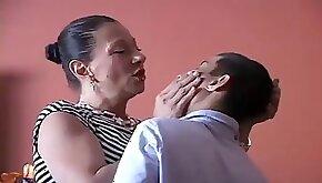 Mistress spank naughty boy