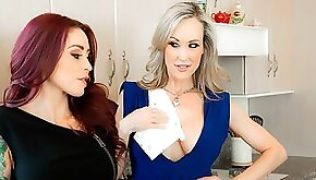 Beauties Brandi Love and Monique Alexander are getting pleasure