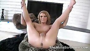 TRANSSEXUAL Astrid Transgirl Jerk Off Instructions Fap Off Directions From Ladyboy
