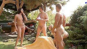 Outdoor pleasure games scene