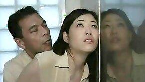 japan milf swap their husbands in public toilet