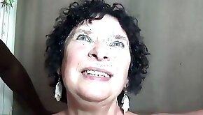 Slutty granny threesome