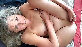 Mature Wife With Shaved Pussy Fingering And Pussy Pump