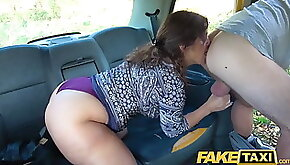 Fake Taxi Big sexy Spanish ass bounces as tight wet pussy fucked