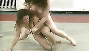 German extreme naked wrestling