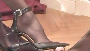 German Foot slave love Shoe