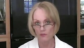 GILF Goes To Her Office
